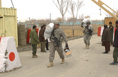 South Carolina Guardsmen deliver supplies in Afghanistan (The National Guard) Tags: usa afghanistan sc soldier army us team military southcarolina afghan nationalguard soldiers airforce supplies reconstruction provincial prt airmen paktika civilians oef operationenduringfreedom isaf sharana