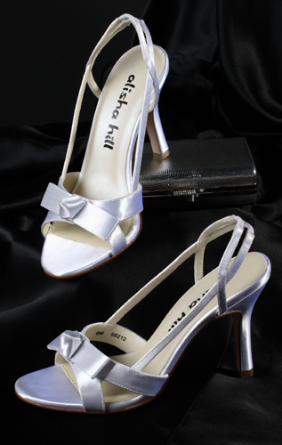 High heel wedding shoes from The Alisha Hill Angelina