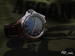 Blue Boctok Komandirskie 3AKA3 ready for Afghanistn (3) (FLO_mac ) Tags: afghanistan vostok isaf boctok wostok komandirskie 3aka3 vintagemilitarywatch 3aka3mocccp