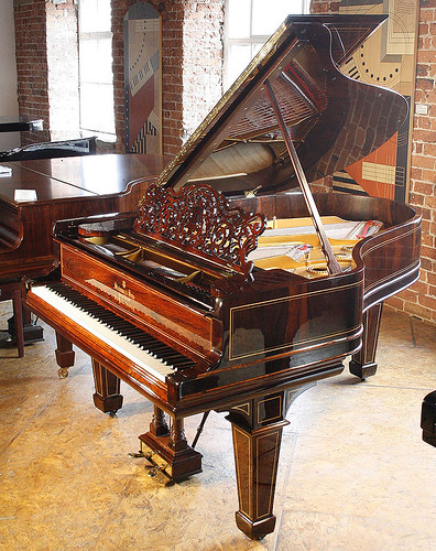 Steinway Grand Piano. Steinway Grand Piano at