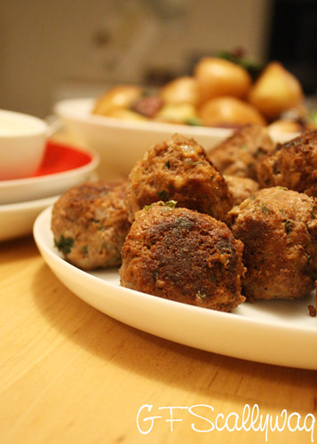 Gluten Free Scallywag_Gluten Free Meatballs