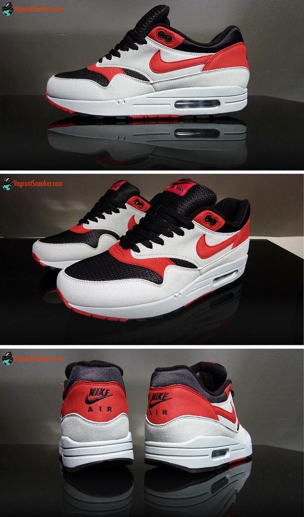 """Nike Air Max 1 iD """"Red Markk"""" - 2010"""