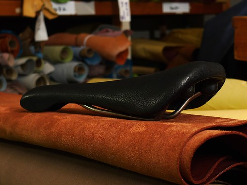 Masago×JINKEN Saddle Leather Repair4