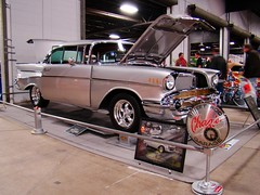 2010 World of Wheels in Boston (mike01905) Tags: worldofwheels 1957 chevrolet chevy belair 2010worldofwheels boston