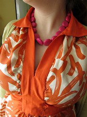 Collar and bands detail