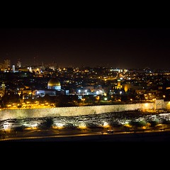 Jerusalem at night (Flavio Ewerton) Tags: israel jerusalem   oldcity mountofolives yerushalyim  jerusalematnight