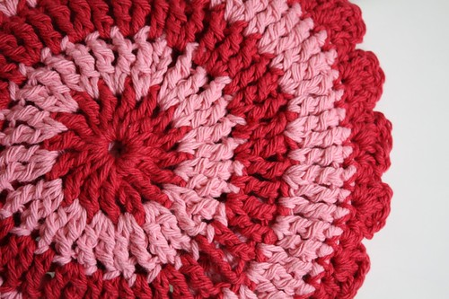 Striped Potholder Back