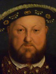 Holbein's Henry VIII detail with face