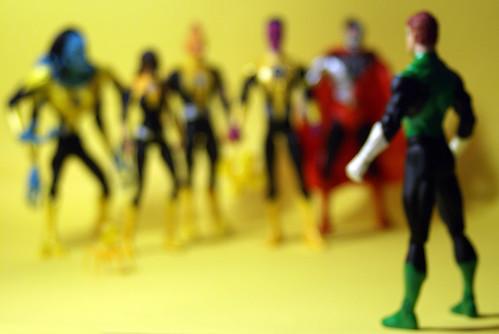 Hal Jordan vs Sinestro Corp