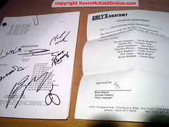 "SCRIPT: Grey's Anatomy ""New History""  ** AUTOGRAPHED ** (duchovlet) Tags: poverty charity 2 food rome celebrity project scotland haiti earthquake education call kevin ebay post natural auction dr military duty iraq scottish orphan relief hunger doctor disaster anatomy actor medicine elgin disorder shelter stress poseidon fundraiser trainspotting catwalk kinky bunraku greys ptsd hideous donate grandtheftauto lucious afterlife topsy journeyman fund grays traumatic savethechildren olympians turvy entertaiment dogsoldiers vicecity mckidd northsquare percyjackson lightningthief madeofhonor kevinmckidd modernwarfare vorenus owenhunt kevinmckiddonlinecom kevinmckiddonline postraumatic 16yearsofalcohol onenightinemergency"