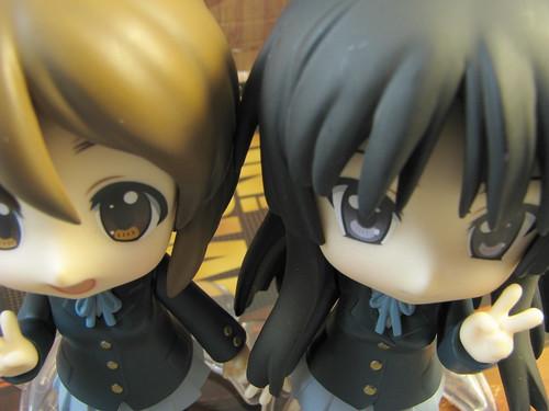 Nendoroid Yui & Mio (aerial view)