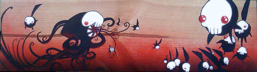 Painting on wood, I love it