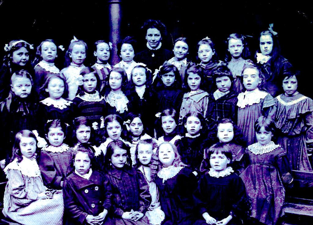 Fairfield Primary, Govan, 1907.
