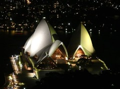 Sydney Opera House - Unusual night perspective (Sir Francis Canker Photography ) Tags: park xmas trip travel bridge panorama house reflection building heritage tourism monument skyline architecture night garden landscape navidad bay harbor opera scenery exposure view shot pacific harbour dusk oz flag gorgeous awesome great perspective sydney australian picture australia landmark visit icon front tourist best unesco australiano nsw stunning vista nocturna coathanger outback unusual australien aussie frontal visiting ever nuit notte icono pacifico sydneyharbour australie lucena  australiana arenzano ured sirfranciscankerjones tz10   zs7 pacocabezalopez