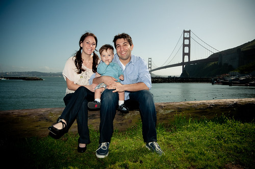 Family Photoshoot, Bay Area Discovery Museum