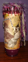 Shrine Candle (sacredgypsy) Tags: collage vintage candle mixedmedia