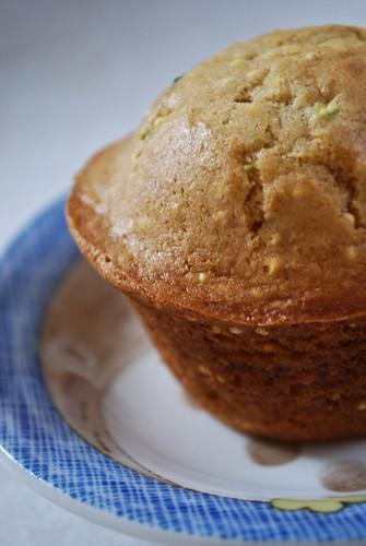 march :: a recipe {zucchini millet muffins}