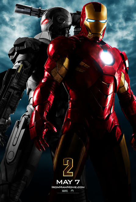 Iron Man 2 Official Movie poster