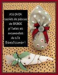 (www.bibelots.com.br) Tags: de perfume mini pscoa gift sachs coelho brinde presente ovo clientes lao cliente cenoura bibelots presentinho sach aromatizante perfumados aromatizador
