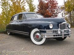 President Truman's Packard Custom 8 Limo? (Sunset Classics) Tags: auto blue classic car forsale president luxury rare limousine 1949 packard harrytruman autoglamma custom8 customeight