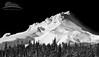 Mount Hood (Jesse Estes) Tags: bw mounthood jesseestesphotography