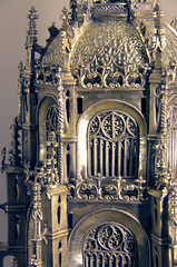 Reliquary-monstrance -detail -  Portugal, early 16c