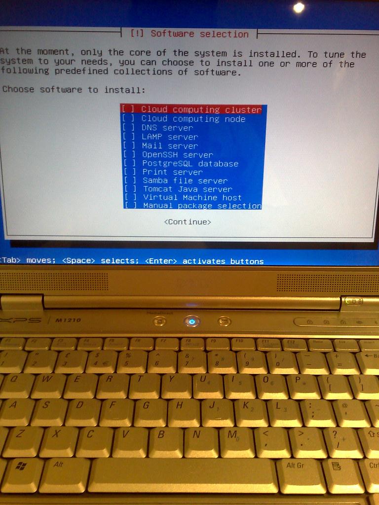 Ubuntu 9.10 Server Installation