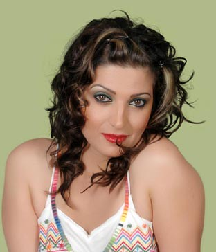 Iraqi singer Shorooq photo