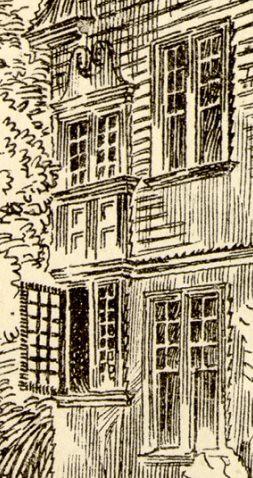 Henry C. Holt residence (detail)