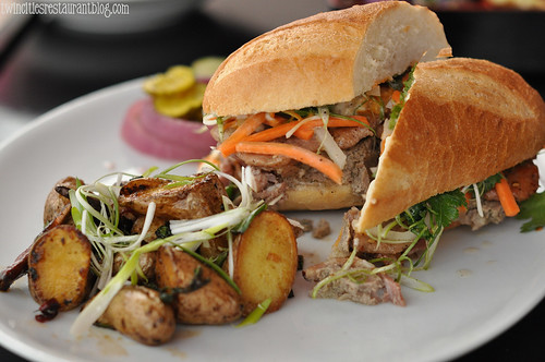 20.21 Banh Mi Pork Sandwich