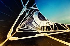 (dennisgerbeckx.com) Tags: berlin tower architecture stairs spiral treppe staircase scifi architektur turm treppenhaus wendeltreppe
