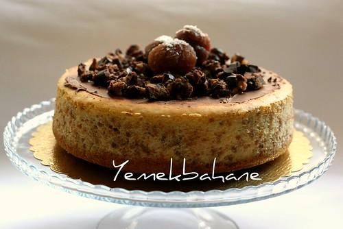 kestaneli cheesecake