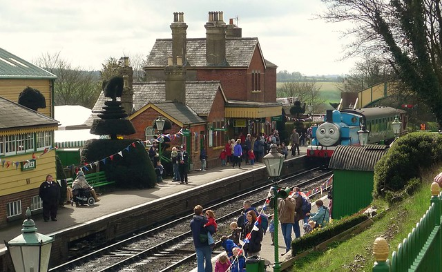 Thomas The Tank Engine At Ropley
