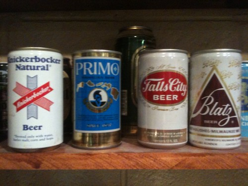 Beer Cans at Harpoon