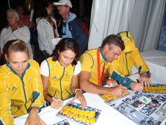 Autograph Signing Hamilton Island (k_weiroz) Tags: china beijing olympics qingdao 2008 chn