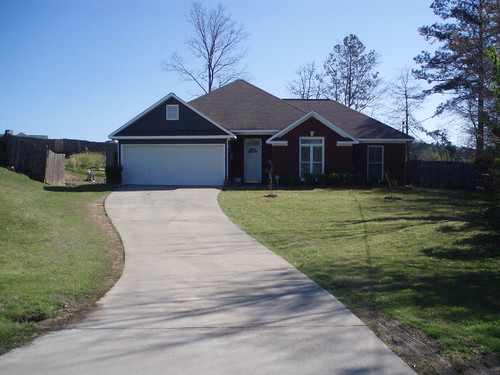 front view of Phenix City home for sale