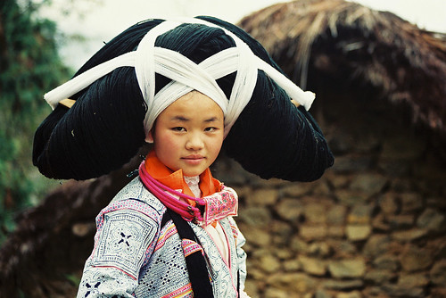 Long Horned Miao girl