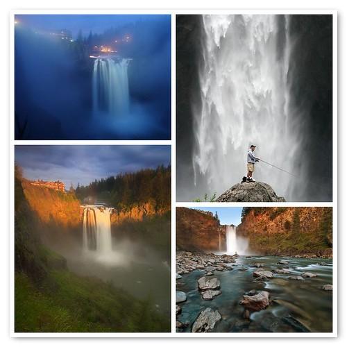 Snoqualmie Falls Mosaic 1