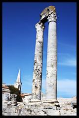 Ancient theater of Arles (Melancholya) Tags: ancient theater antique arles thtre auguste decumanus hauture