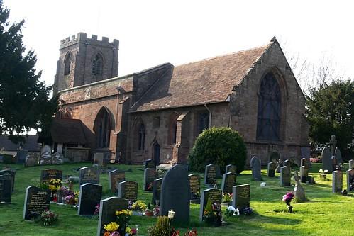 St. Wilfred - Old Arley, parish church warwickshire