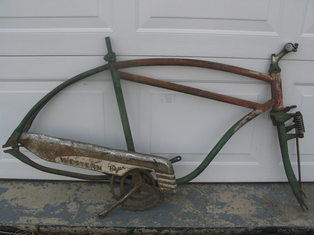 western flyer bicycle serial number
