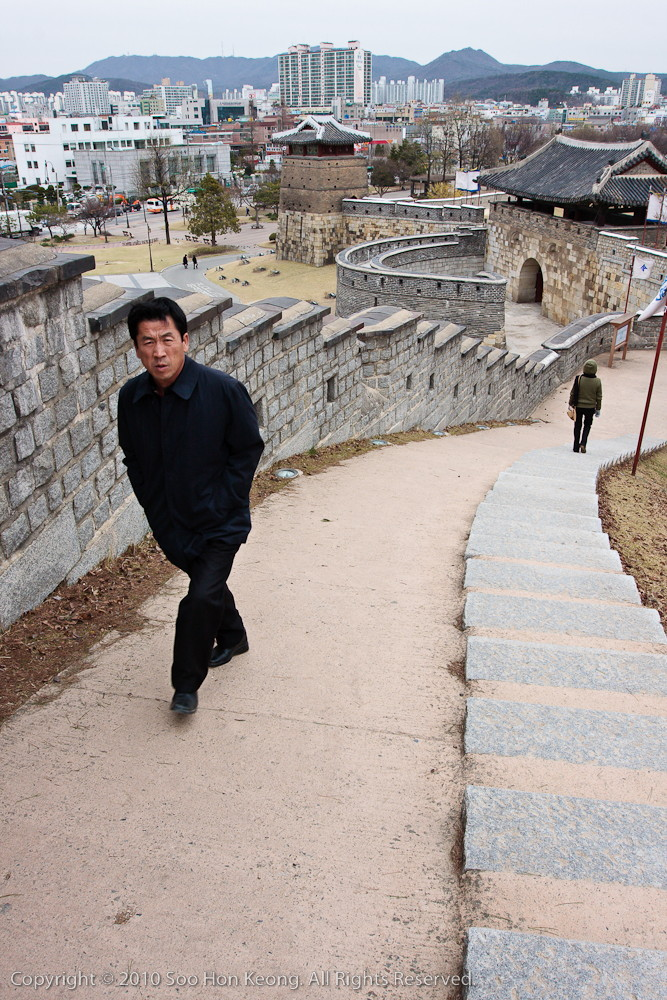 Walk the Wall @ Hwaseong Fortress, Suwon, Korea