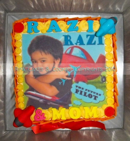 Lemon Cotton Cake for Razi & Mom