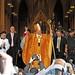 Archbishop Timothy M. Dolan greets the crowd