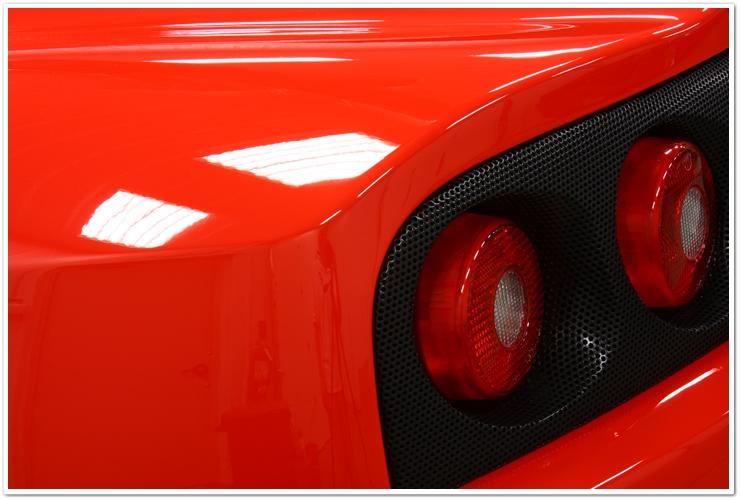 Ferrari Challenge Stradale taillights