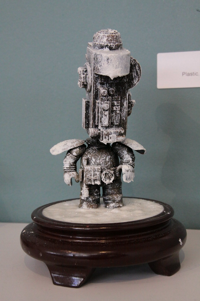 """Robot #8"" by Lily Black - $200"