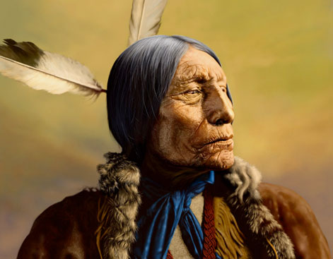 NATIVE AMERICAN PORTRAITS by WENDELIN