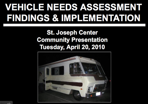 St Joseph Center Community Presentation