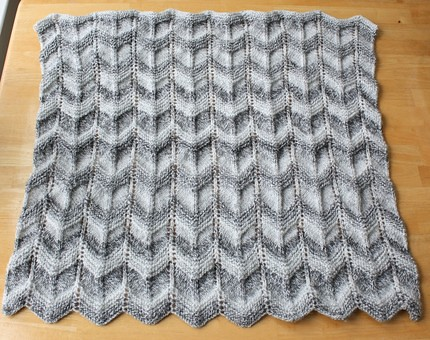 Ravelry Gray Ripples Pattern By Heather Difabio