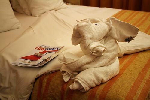 Carnival Spirit - Towel Animal - Pig